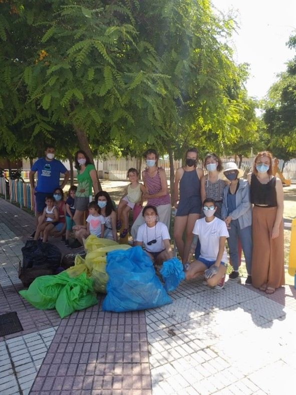 12th June – 1m2 against littered nature 2021